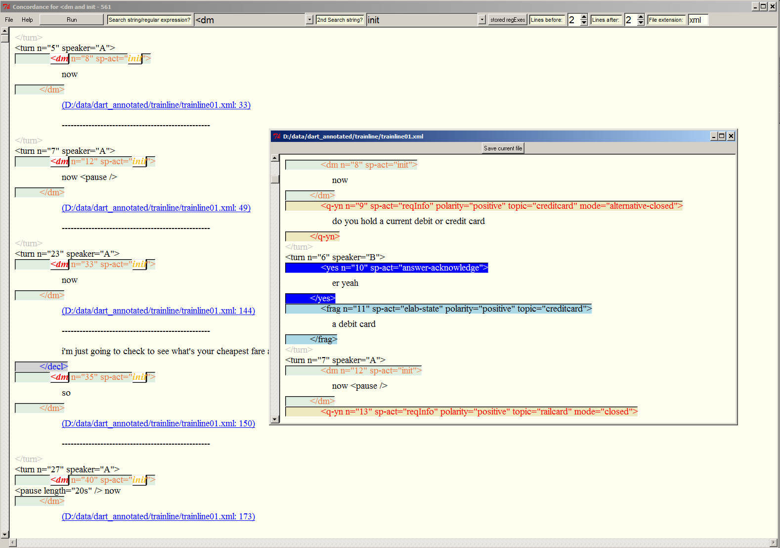 The Text Feature Analyser